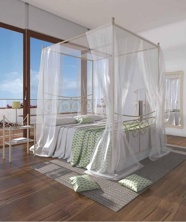cama de estilo mediterraneo